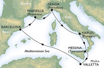 itinerario meraviglia